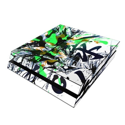 Sony PS4 Skin - Green 1