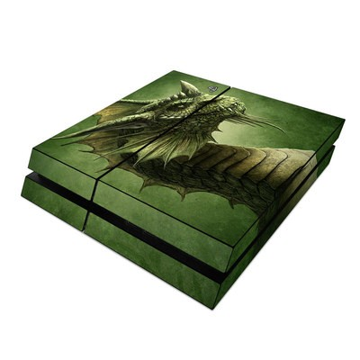 Sony PS4 Skin - Green Dragon