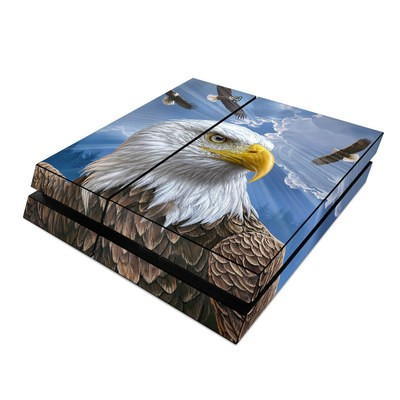 Sony PS4 Skin - Guardian Eagle