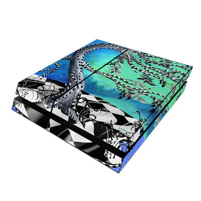 Sony PS4 Skin - Haunted Tree