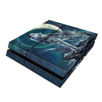 Sony PS4 Skin - Howling Moon Soloist