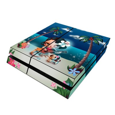Sony PS4 Skin - Hula Night