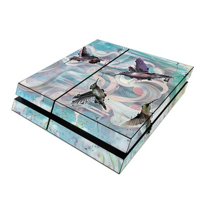 Sony PS4 Skin - Hummingbirds