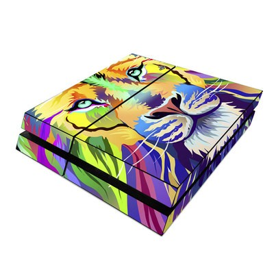 Sony PS4 Skin - King of Technicolor