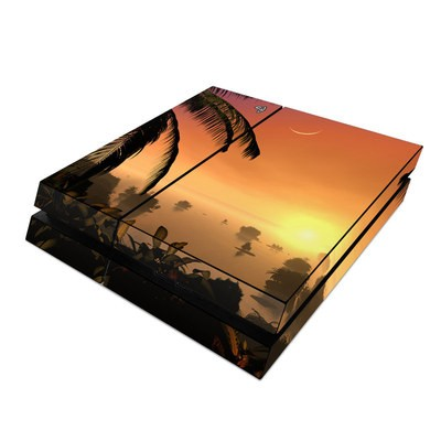 Sony PS4 Skin - Last Light Of The Sun