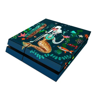 Sony PS4 Skin - Martini Mermaid