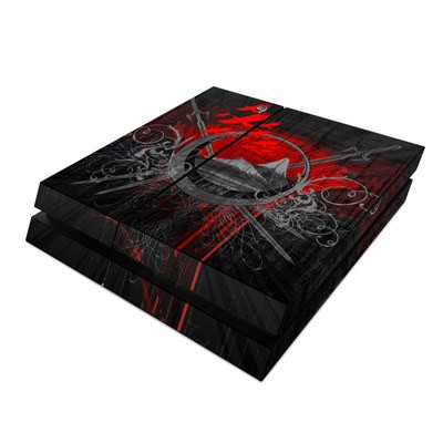 Sony PS4 Skin - Mount Doom