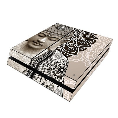 Sony PS4 Skin - Meditation Mehndi