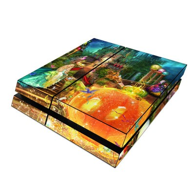 Sony PS4 Skin - Midnight Fairytale