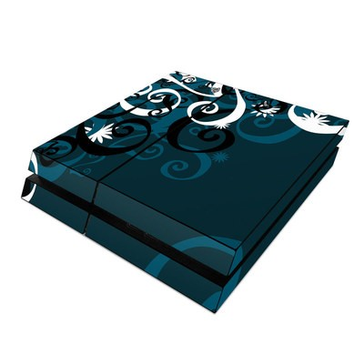 Sony PS4 Skin - Midnight Garden