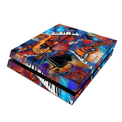 Sony PS4 Skin - Music Madness