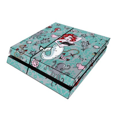 Sony PS4 Skin - Molly Mermaid