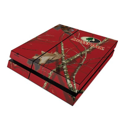 Sony PS4 Skin - Break-Up Lifestyles Red Oak
