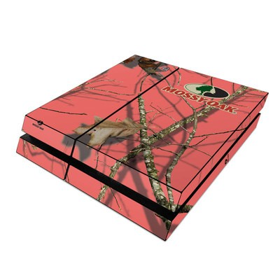 Sony PS4 Skin - Break-Up Lifestyles Salmon