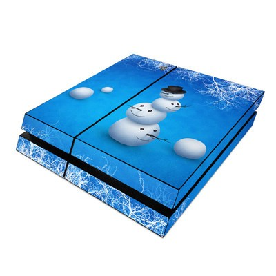Sony PS4 Skin - Merry Snowman