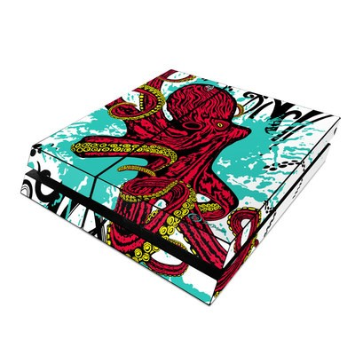 Sony PS4 Skin - Octopus