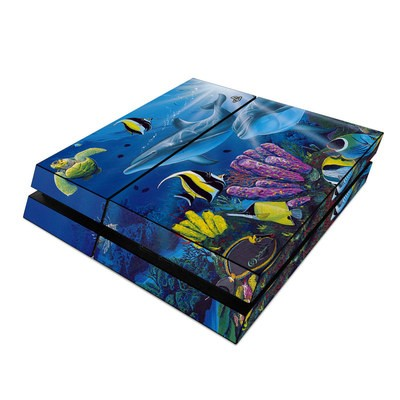 Sony PS4 Skin - Ocean Friends