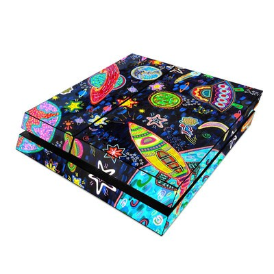 Sony PS4 Skin - Out to Space