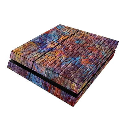 Sony PS4 Skin - Painted Brick