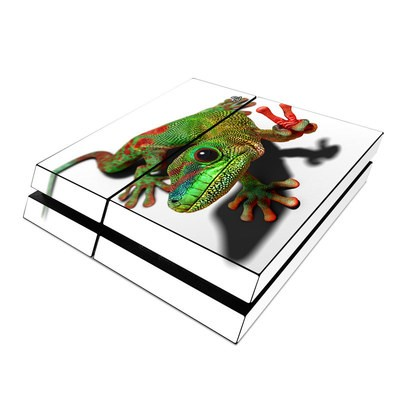 Sony PS4 Skin - Peace Gecko