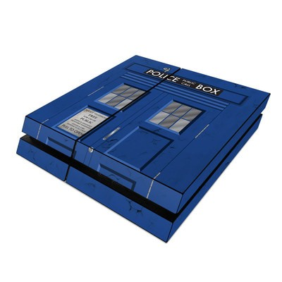 Sony PS4 Skin - Police Box