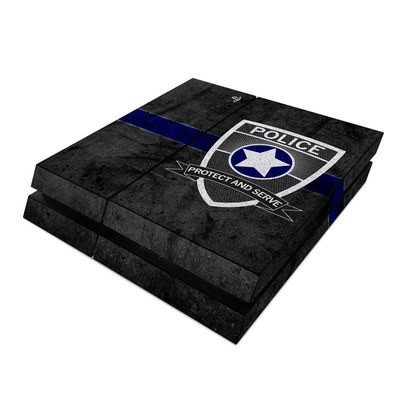 Sony PS4 Skin - Protect and Serve