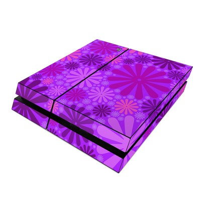 Sony PS4 Skin - Purple Punch