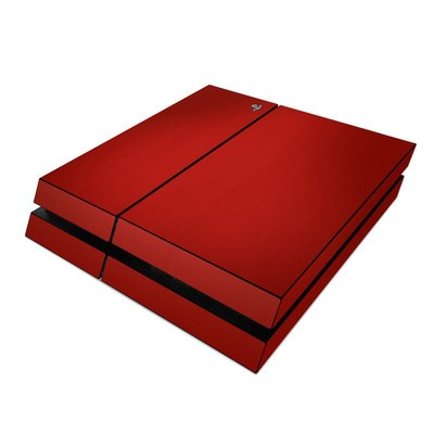 Sony PS4 Skin - Red Burst