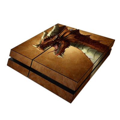 Sony PS4 Skin - Red Dragon