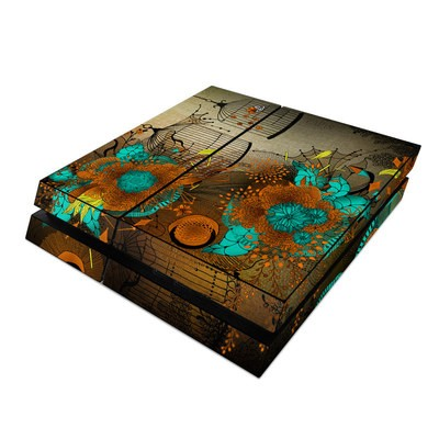 Sony PS4 Skin - Rusty Lace