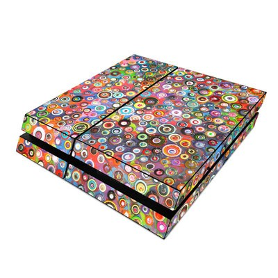 Sony PS4 Skin - Round and Round