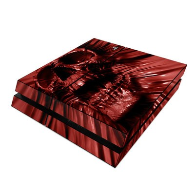 Sony PS4 Skin - Skull Blood