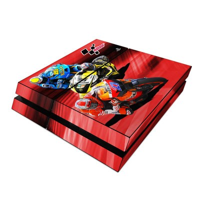Sony PS4 Skin - Speed Collage
