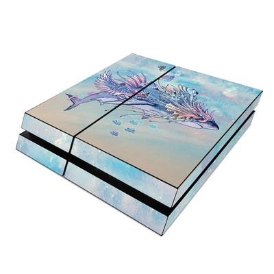 Sony PS4 Skin - Spirit Shark