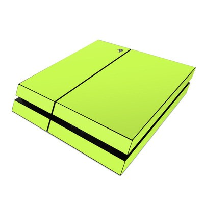 Sony PS4 Skin - Solid State Lime