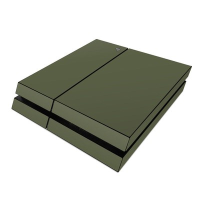 Sony PS4 Skin - Solid State Olive Drab