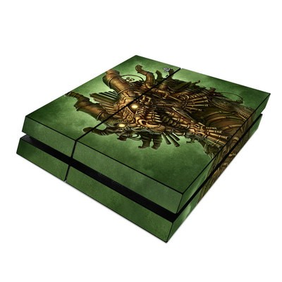 Sony PS4 Skin - Steampunk Dragon