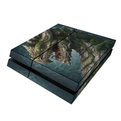 Sony PS4 Skin - Stone Dragon