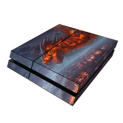 Sony PS4 Skin - Terror of the Night