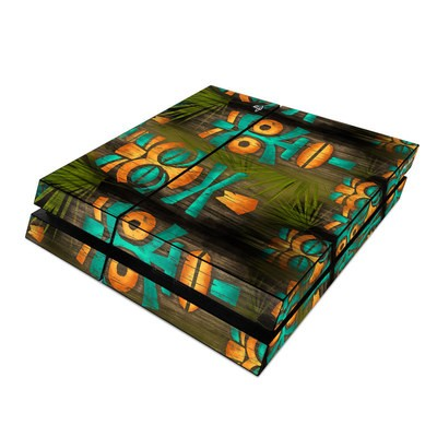 Sony PS4 Skin - Tiki Abu