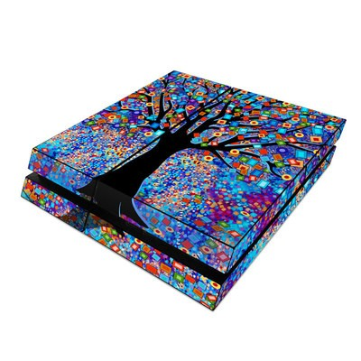 Sony PS4 Skin - Tree Carnival