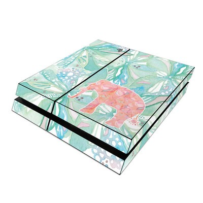 Sony PS4 Skin - Tropical Elephant