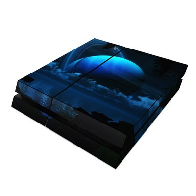 Sony PS4 Skin - Tropical Moon
