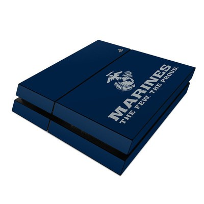 Sony PS4 Skin - USMC Blue
