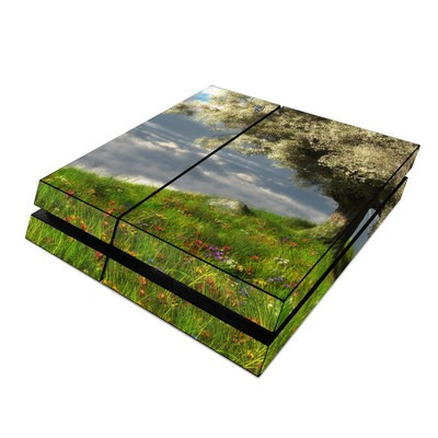 Sony PS4 Skin - World's Edge Spring