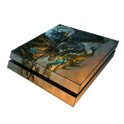 Sony PS4 Skin - Wings of Death