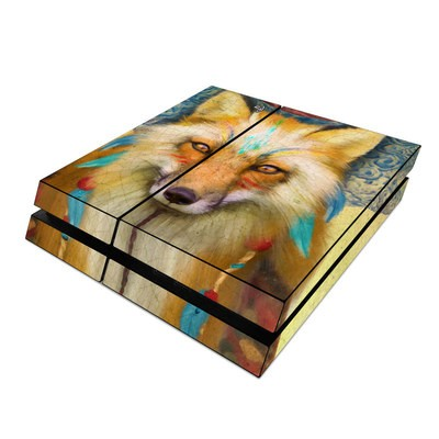 Sony PS4 Skin - Wise Fox