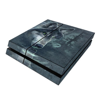Sony PS4 Skin - Wolf Reflection