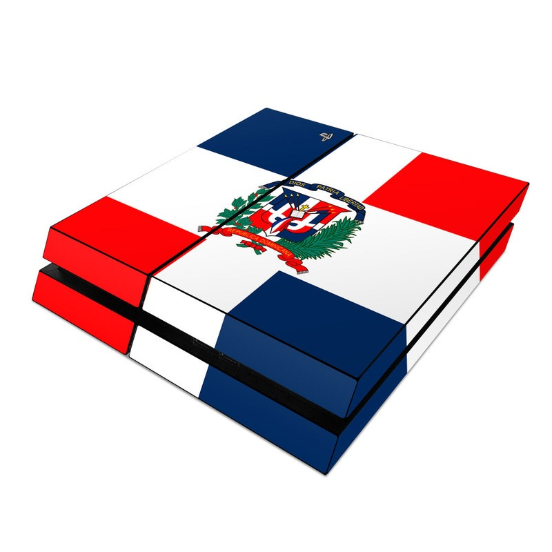 sony ps4 skin - dominican republic flagflags | decalgirl