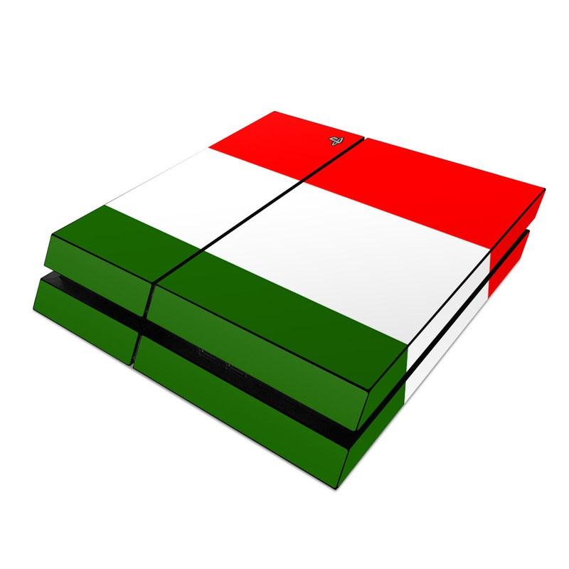 Italian Flag: Sony PS4 Skin - Italian Flag By Flags